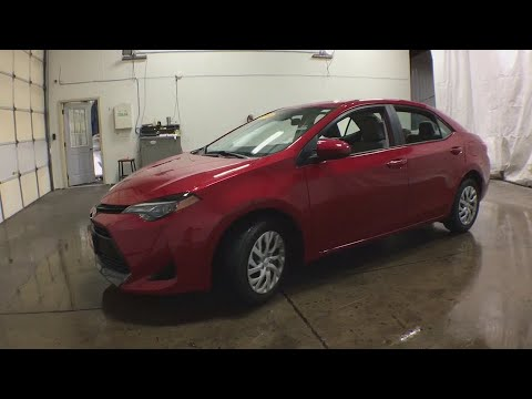 2018 Toyota Corolla Burlington Ia West Mt Pleasant Ft Madison Gaurg I