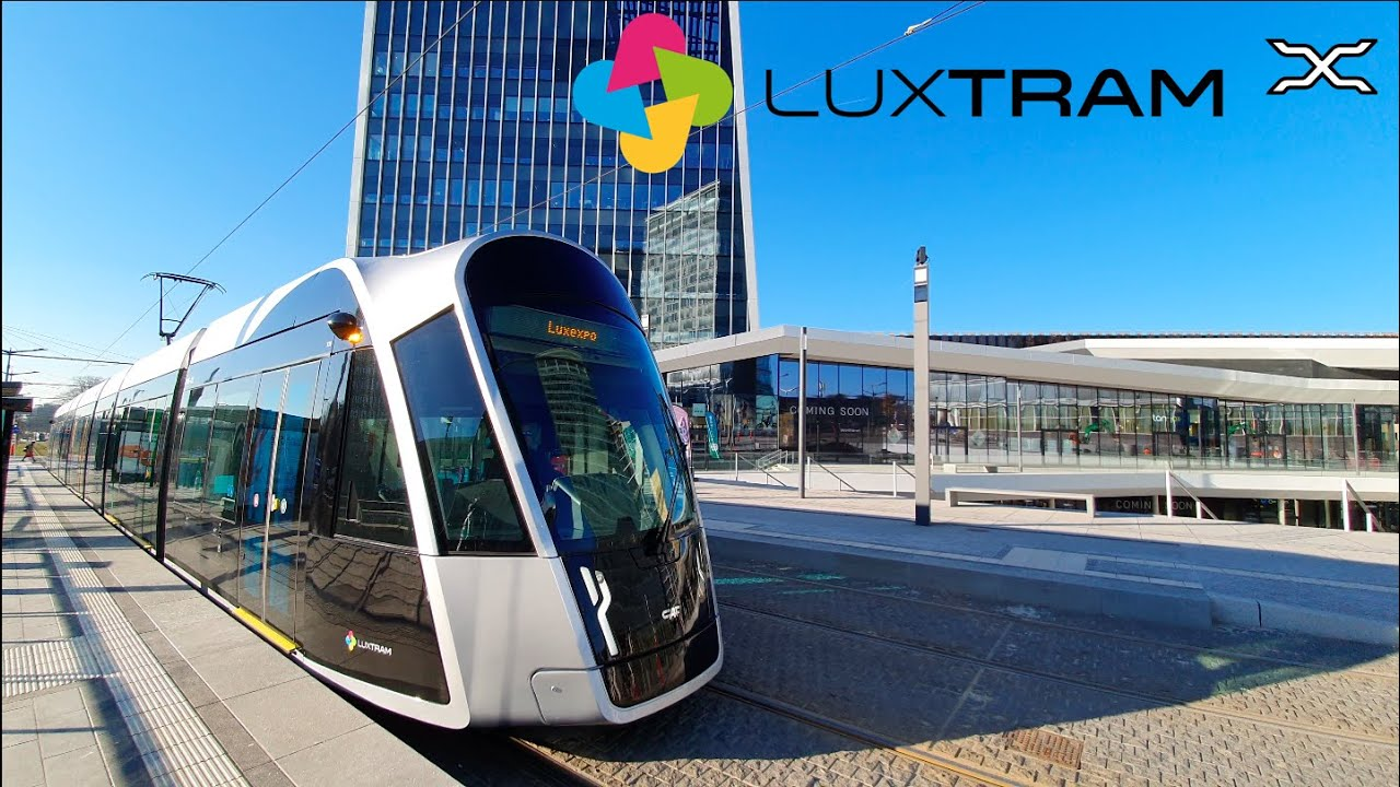 Luxtram | Luxembourg Tramway | Tram | 2020 | CAF Urbos | Free public transport