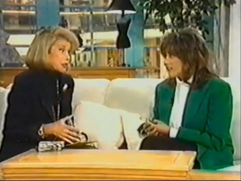 Laura Branigan - Interview [cc] and It's Been Hard Enough - Can We Shop? with Joan Rivers (1994)
