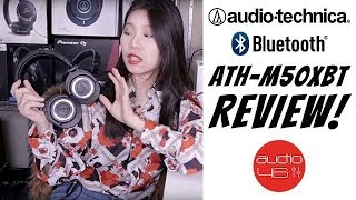 Audio Technica ATH-M50X Bluetooth review Ath-M50XBT