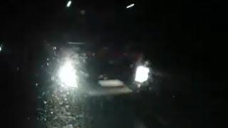 В Пермском крае грузовик врезался в стоящий автобус | 59.ru