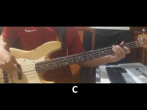 I Am Saved By Grace By Israel Houghton (Bass Lesson W/TABS)