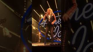 "Gabby Barrett singing ""Last Name"" (American Idol Live tour, Lynn MA)"