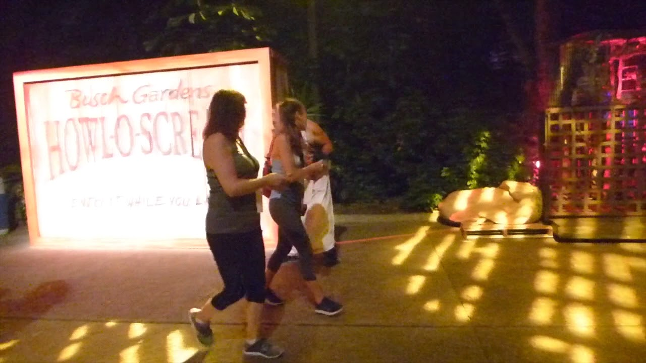 Meat Market Scare Zone at Busch Gardens Tampa\'s Howl O Scream - YouTube