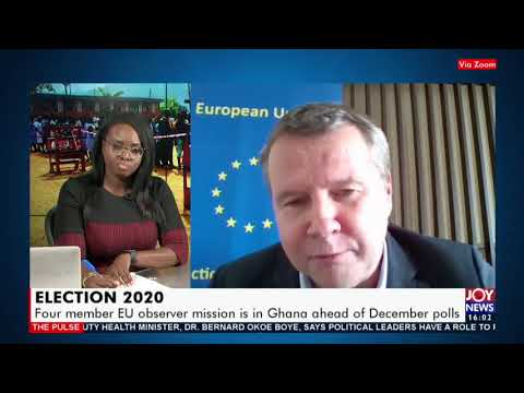 Election 2020: Four member EU observer mission is in Ghana ahead of December polls (23-11-20)
