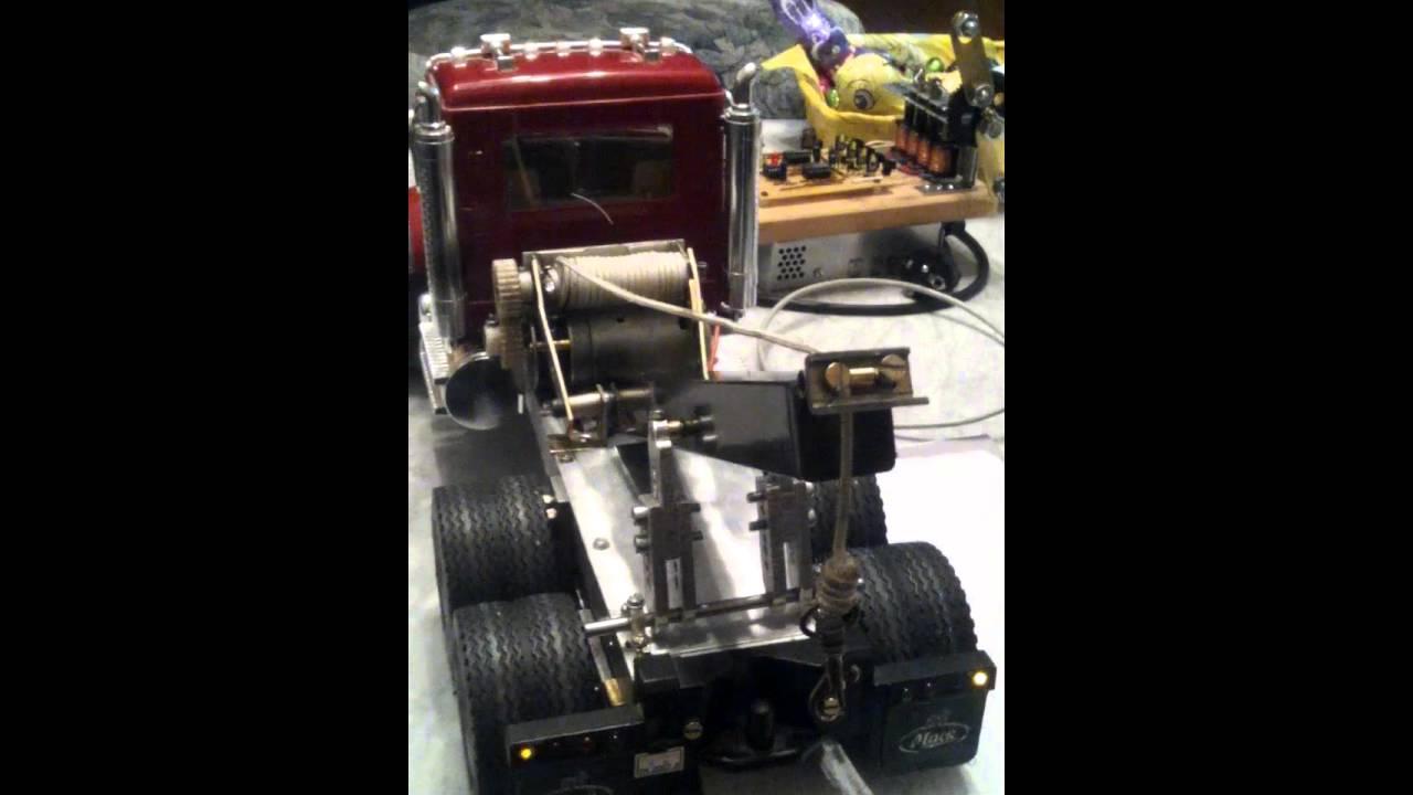 Rc bruder mac abschlepp truck arduino youtube