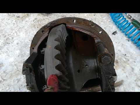 Установка редуктора от ГАЗ 66 на Ассенизатор