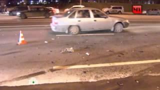 В ДТП на Кутузовском проспекте разбился 19-летний мотоциклист