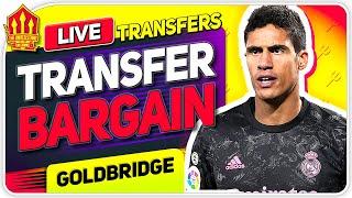 40 MILLION For VARANE! 80 MILLION For SANCHO! Man Utd Transfer News