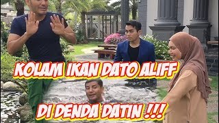 Kolam Ikan Dato Aliff Di Denda Datin  - TV Terlajak Laris