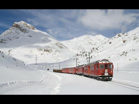 LIVE Train 24 - Train Drivers View - Live View / Winter  Cab View