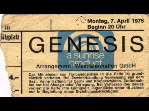 Genesis Live 1975 Dortmund