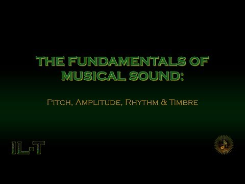 Music Theory - The Fundamentals of Musical Sound