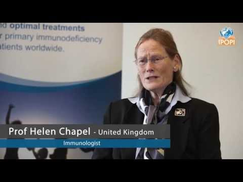 Prof Helen Chapel, Immunologist, answers crucial questions about Primary Immunodeficiencies