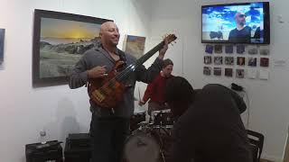 Brian Kastan-Fretless Bass-Miles Griffith-Vocals-Dave Berger-Drums