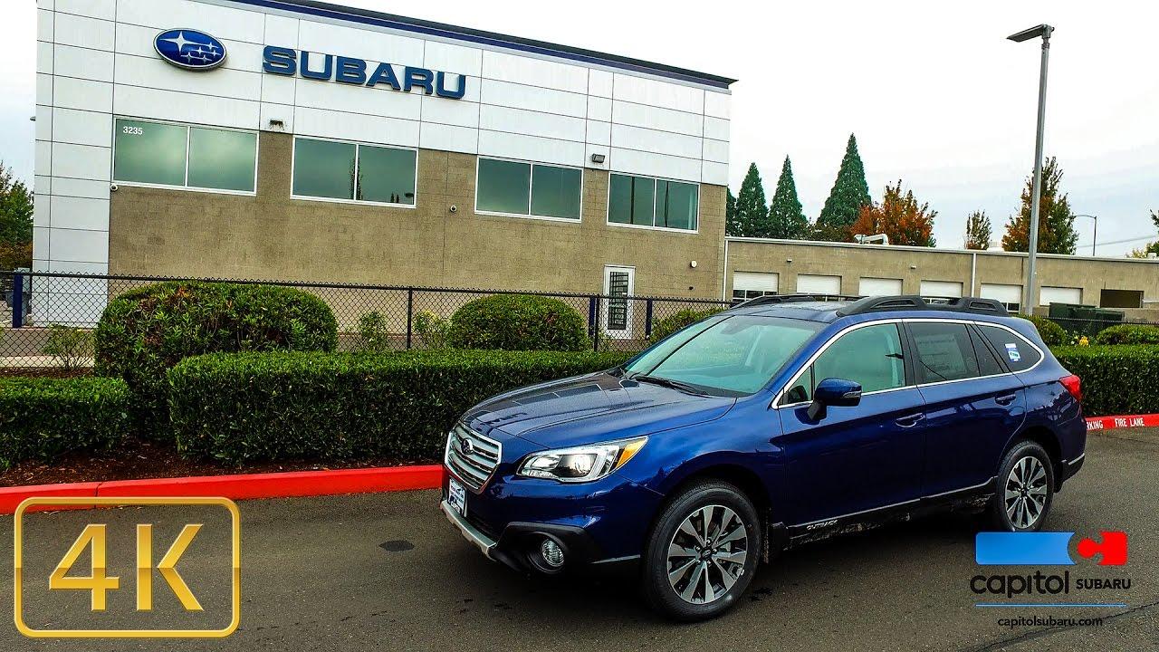 Capitol Subaru Salem Oregon >> Capitol Subaru 2017 Subaru Outback Limited Walk Around Test Drive 4k Salem Oregon