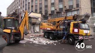 """Проект 60sec №244. Снос ТЦ """"Пирамида"""""""