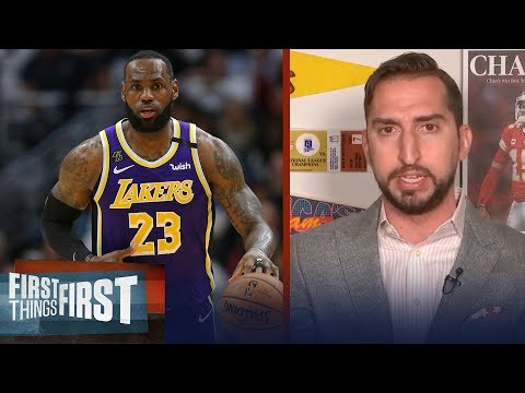 Nick Wright on Top 5 NBA players of all time, names LeBron & Jordan | NBA | FIRST THINGS FIRST