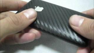 Iphone 3G Carbon обзор айфона в карбоновой плёнке