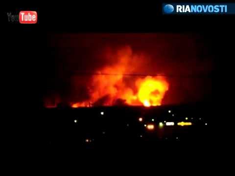 Shell blasts at artillery depot in Udmurtia