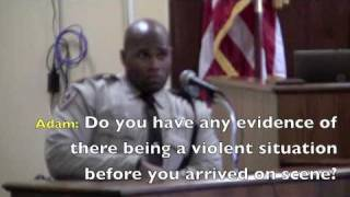 Disorderly Conduct Trial (Jones Co, MS vs Mueller)