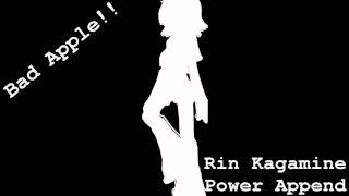 Video 【Kagamine Rin POWER Append】Bad Apple!! FULL download MP3, 3GP, MP4, WEBM, AVI, FLV Juli 2018