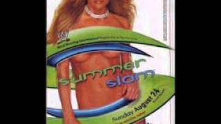WWE Summer Slam 2003 Theme Song. St Anger by Metalica
