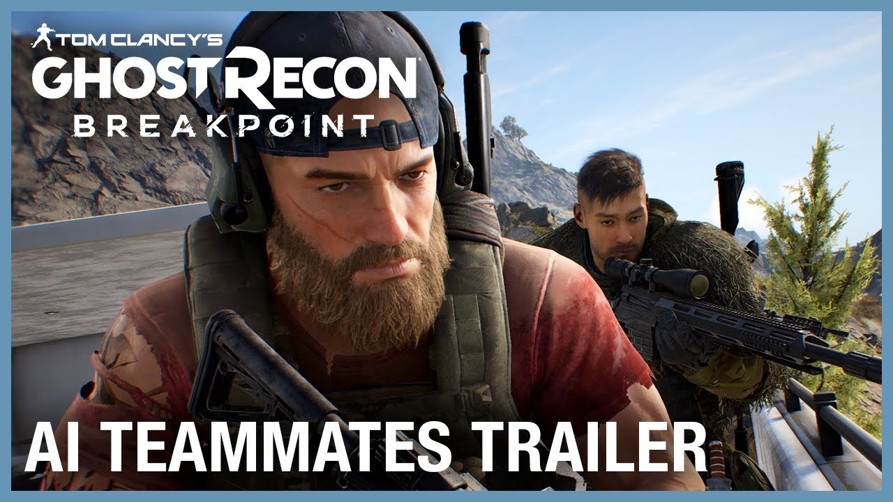 Tom Clancy's Ghost Recon Breakpoint: AI Teammates Trailer | UbiFWD July 2020 | Ubisoft NA