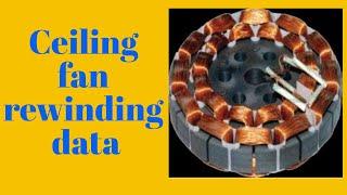 Ceiling Fan Rewinding 14+14 Part -1