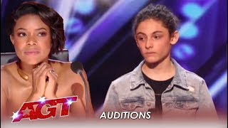 Benicio Bryant: Judges Did NOT Expect This Shy Boy's Voice | America
