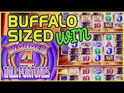 😮 🎉 My BIGGEST WIN EVER on Wonder 4 Tower 💰💰 ✦ w/WCF @Mirage Vegas ✦ Slot Machine Pokies