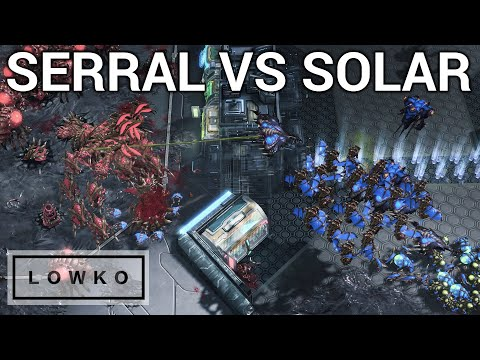StarCraft 2: KOREAN VS EUROPEAN ZERG VS ZERG! (Solar vs Serral)