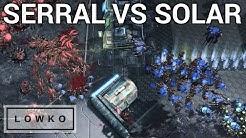 StarCraft 2: KOREAN VS EUROPEAN ZERG VS ZERG! (Solar vs Serral)