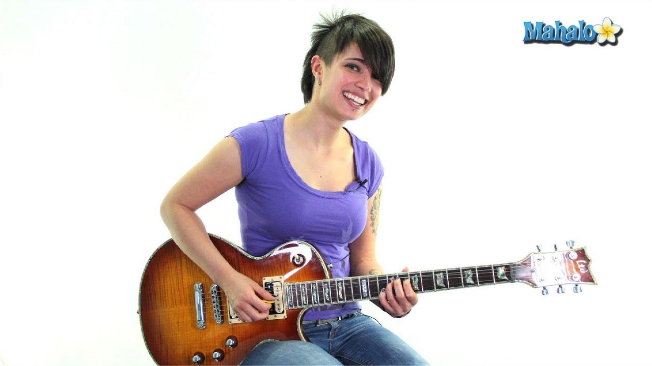 Interactive guitar