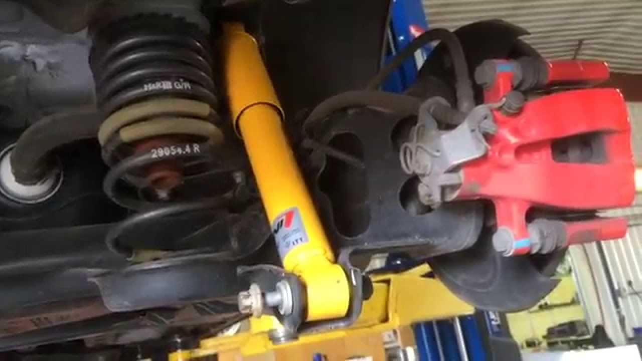 2012 Fiat 500 Koni Rear Shock Absorber Shocks Diy Install Youtube