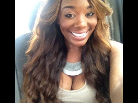 Queenie's Real Virgin Hair Malaysian (Lightened w/ 40 Vol. Developer) - YouTube