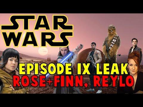 Finn + Rose, Reylo, Cameos: Star Wars IX Leaks