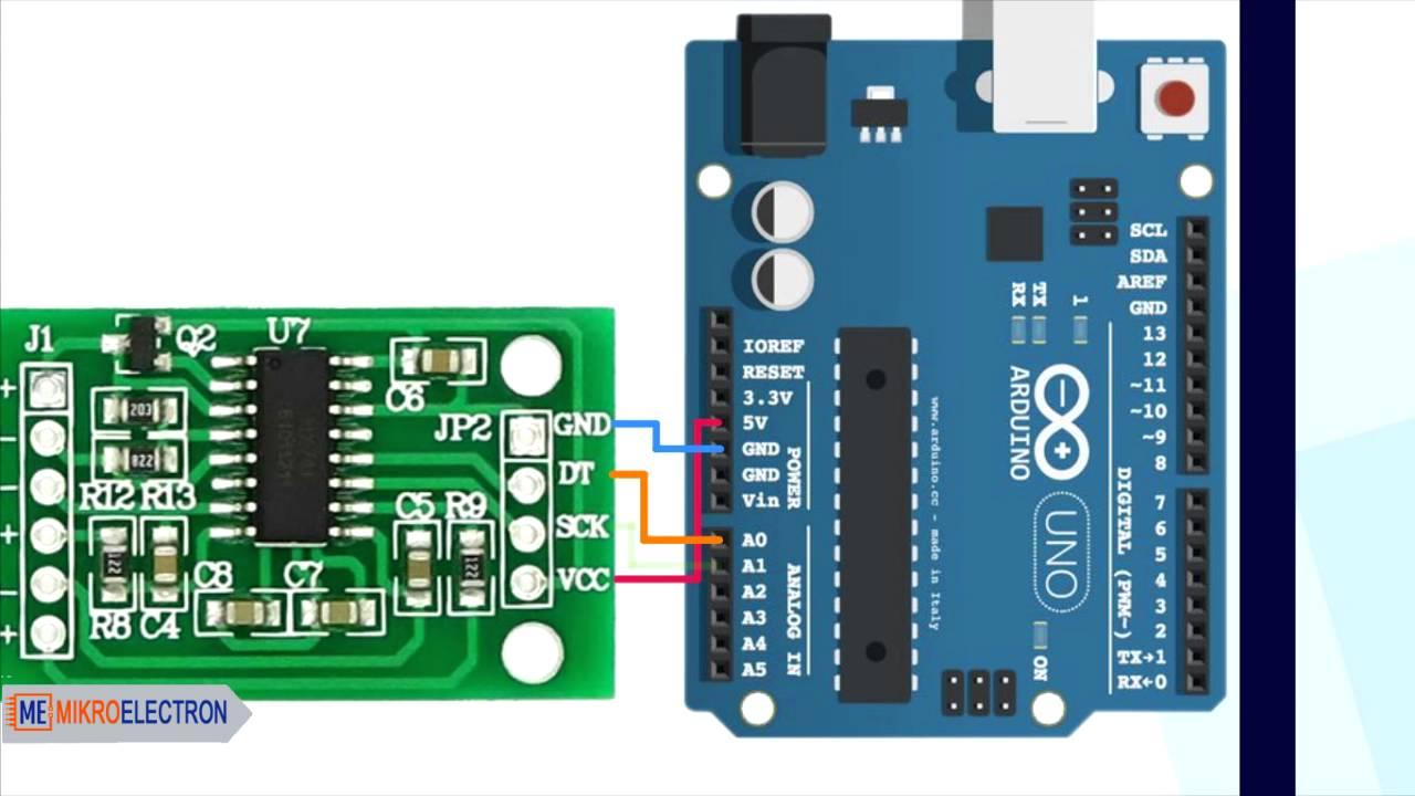 HX711 24Bit Precision ADC Module - Mikroelectron