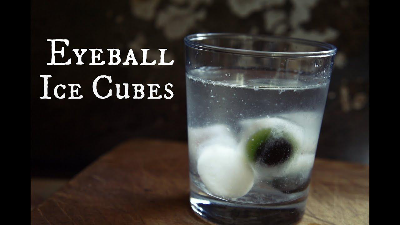 how to make halloween eyeball ice cubes - whatcha eating? #110 - youtube