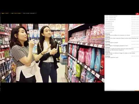 Streaming live from the supermarket