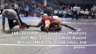 CIF Southern Section Masters Wrestling Meet 02.27.16