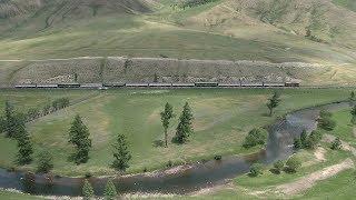 モンゴル縦貫鉄道/Транс-Монголын төмөр зам(ウランバートル鉄道)08 2019年6月21日
