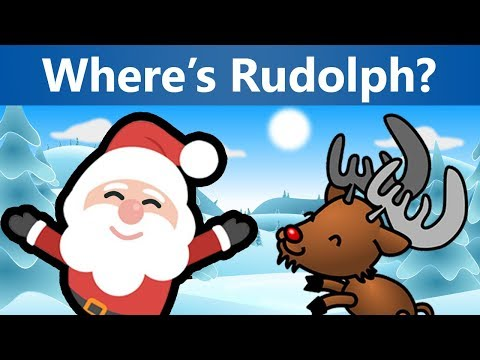 3 Christmas Riddles with Reindeer - Can You Help Santa Find Rudolph? | Mind Twist Riddles