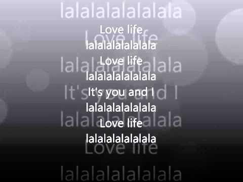 ▶ Love life full ENGLISH version John Mamann lyrics