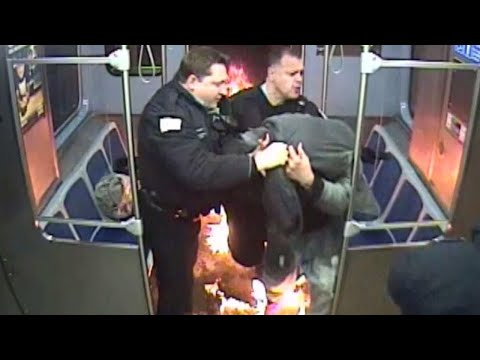 Police Save Man After He Allegedly Set Quick-Moving Fire on Train