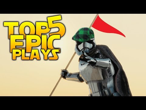 HOLE IN ONE - Star Wars Battlefront 2 Top 5 Plays