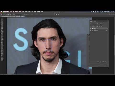 Photoshop Tutorial: Adam driver makeover thumbnail