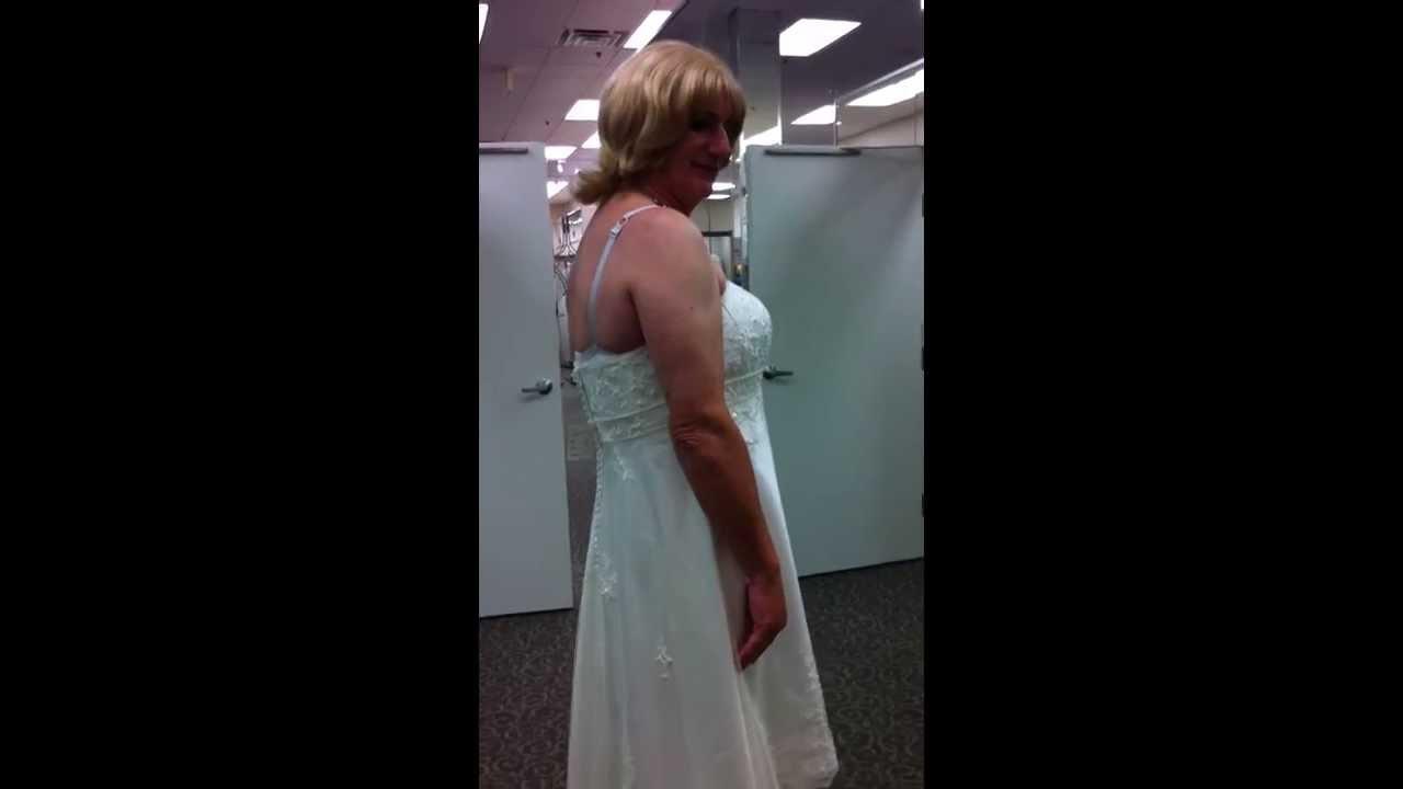 Crossdresser In Wedding Dress