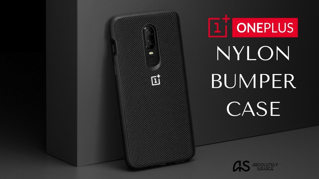best service 25772 fe54f OnePlus 6 Nylon (Black) Bumper Case Review