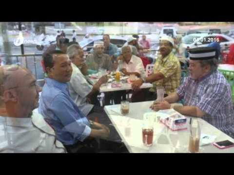 Sultan Johor Berkenan Santap Sarapan Pagi Bersama Rakyat di Restoran Al Ziya Fathima Muar